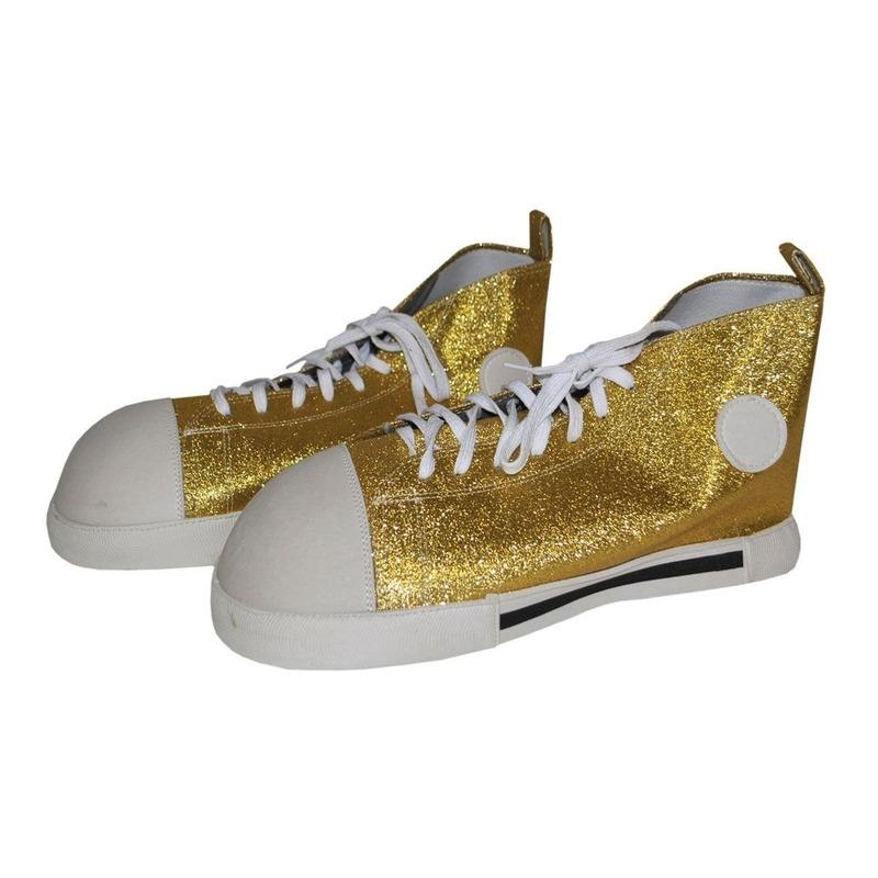 Gouden clownsschoenen