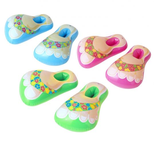 Opblaas Hawaii slippers