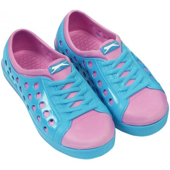 Slazenger trendy waterschoenen in blauw-roze