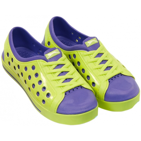 Slazenger trendy waterschoenen in lime-paars