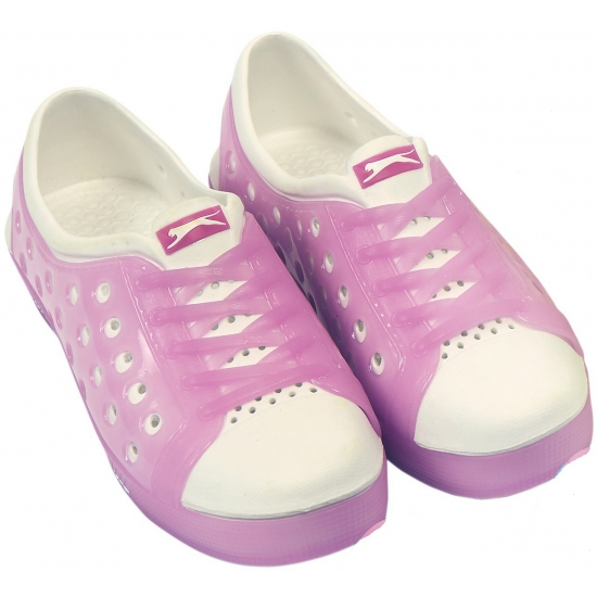 Slazenger trendy waterschoenen in roze-wit